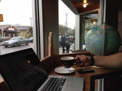 Pip's Original Window Standing Desk