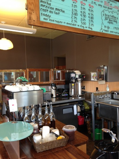 Rain or Shine Coffee House, Ordering Station