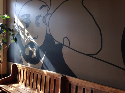 Rain or Shine Coffee House, Artful Seating
