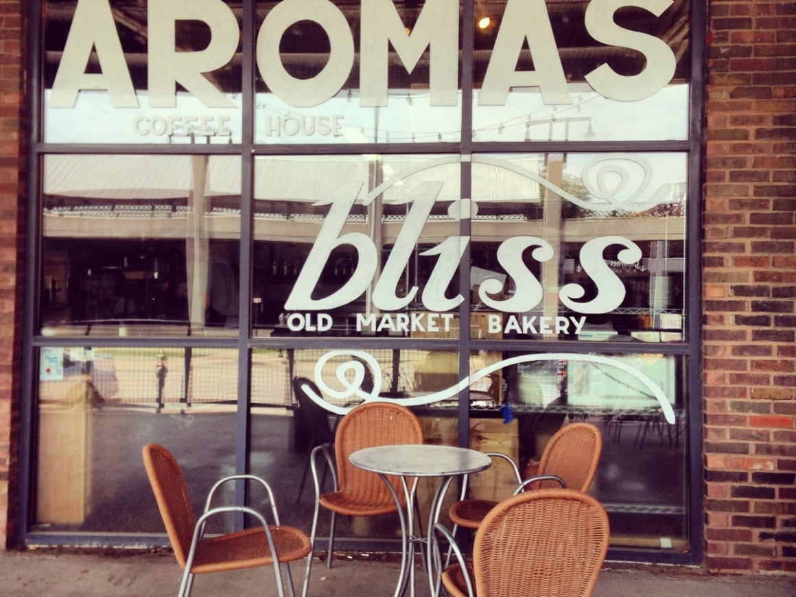 Aromas Coffeehouse is a great place to workfrom in Omaha, Nebraska.